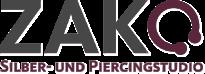 Z AK Silber und Piercing Studio - Logo